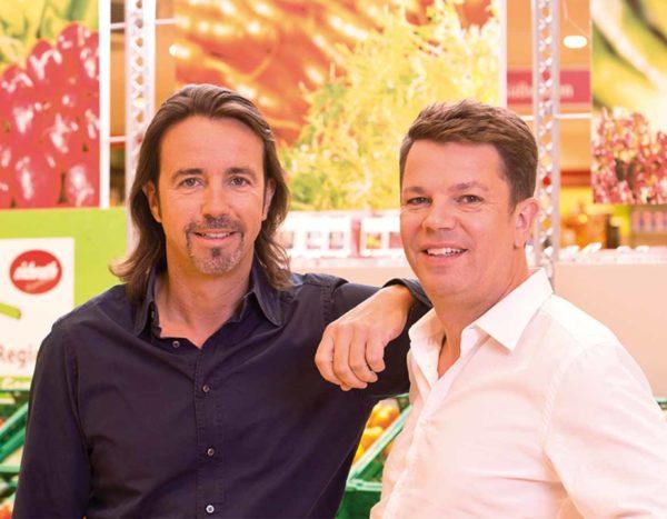 Peter & Lutz Richrath - Inhaber von REWE Richrath